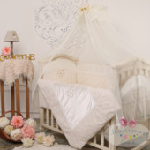 Маленькая Соня постельный комплект Версаль 6 и 7 элементов