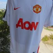 Фирменная оригинал футбольная футболка Nike Манчестер .м-л .