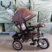 Велосипед turbo trike турбо трайк M 3115НАL с фарой надувные колеса