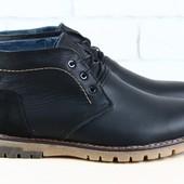 Ботинки Tommy Hilfiger, р. 40-45, натур. кожа на овчине, код nvk-2315