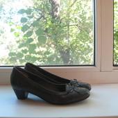 Туфли Janet D 36р. натуральная кожа.Англия.