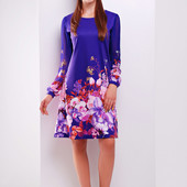 Платье Фиолетовый букет