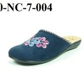 100-NC-7  Новинка! Тапочки женские домашние Inblu Цвет - фиолет, синий, бирюза,  размеры 36-41