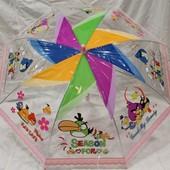 Прозрачный зонт Angry Birds