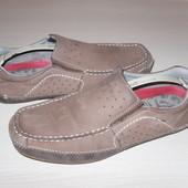 шкіряні макасіни Am Shoe Company 45р