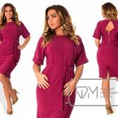 X5056 шикарное платье 50-56р 3 цв