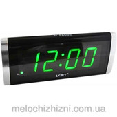 Часы электронные VST 730 светят зеленым
