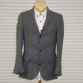 Финальная распродажа мужских пиджаков! Мужской приталенный шерстяной пиджак Conbipel, Италия