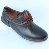 Мужские кожаные туфли осень 2016