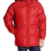 Зимняя мужская куртка u. s. Polo. Размер L. Цвет-красный.