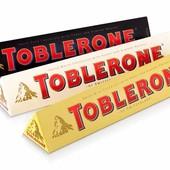 Toblerone 100g, 60g, 400g. Опт и розница