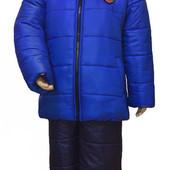 Зимний костюм для мальчика, бесплатная доставка