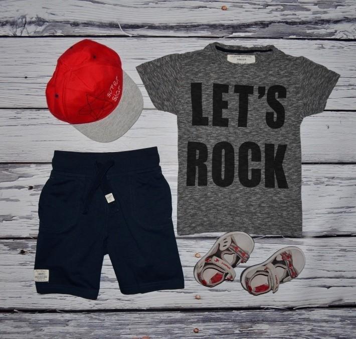 5 лет 110 см Next некст Фирменная футболка стильному мальчику с крутыми надписями фото №1