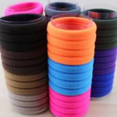 Яркие эластичные резиночки для волос, 4 см. В наличии!