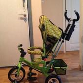Трехколёсный велосипед Turbo trike