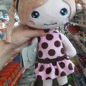 Лялька іннес, кукла иннес, мягкая кукла тм левеня, м'які іграшки
