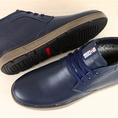 Ботинки зимние натуральная кожа В2319