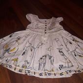 Платье 12- 18 м next