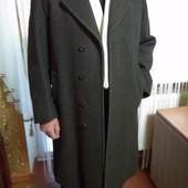 Фирменное темно серое мужское пальто Ludvig Tobiassen Пог-58 см.