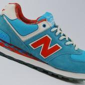 Женские кроссовки New Balance 574 Encap Голубые