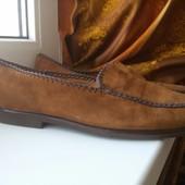 Крутые замшевые туфли от Vero Cuoio, размер 44
