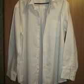 Белая мужская рубашка, размер 43. Состояние новой.