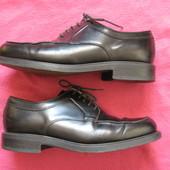 Memphis (42, 27 см) кожаные туфли блюхеры мужские