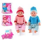 Кукла, Baby Born. Беби Борн. 2 соски. Зима, ассортимент