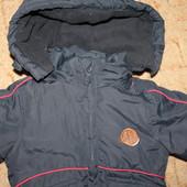 демисезонная курточка еврозима 6 мес 68 см, отл.сост