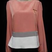 Нежная персиковая блузка для утонченной леди