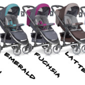 Детская прогулочная коляска Easy Go Virage изи гоу