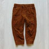 Стильные вельветовые штаники для мальчика. Внутри на котоновой подкладке. H&M. Размер 12-18 месяцев.