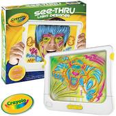 Интерактивная рамка-планшет Crayola See Thru Light Designer, смотри видео внутри