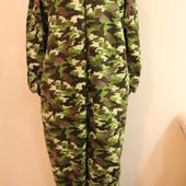 Мужская пижама кигуруми слип человечек размер L-XL на высокий рост