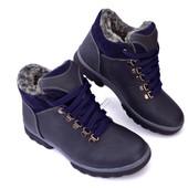Зимняя подростковая обувь в 5-ти цветах, Кожа!