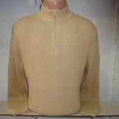 Мужской свитер на короткой молнии Prawn Red, Италия