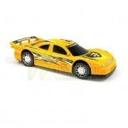 Машина спортивная желтая, инерционная, 31х14х10 см фото №1