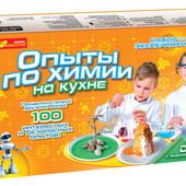 Опыты по химии на кухне набор экспериментатора Ranok-Creative 0330,12114043Р химия