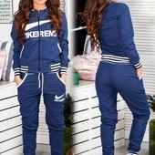 джинсовый костюм Nike