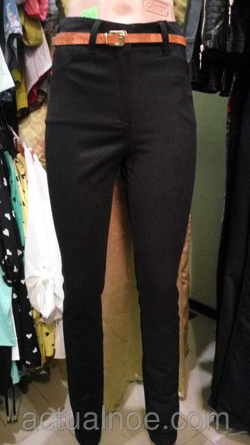 брюки женские с высокой посадкой