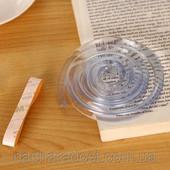 Защитная прозрачная силиконовая лента на углы мебели