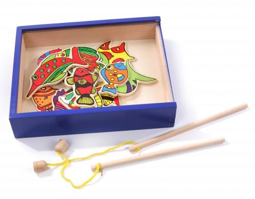 Набор рыбака, мир деревянных игрушек (мди) д183 фото №1