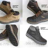 Зимние мужские ботинки, разные цвета