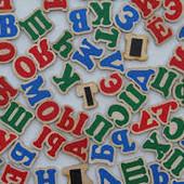 """Игровой набор """"Руссский алфавит"""" на магнитах, Komarovtoys J 705"""