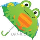 Детский зонтик 3D ушки. Лягушка.