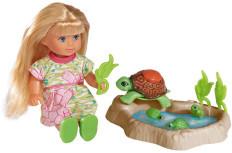 Кукла эви с семьей черепашек и аксессуарами от simba фото №1