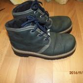 кожаные ботинки 40 р