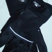 Crane теплые спортивные перчатки,очень крутые,р-р Л ,сток