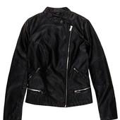 Женская демисезонная куртка косуха из эко-кожи,кожаная куртка на косой замок