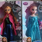 Кукла музыкальная Frozen Анна, Эльза 361 Фроузен